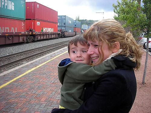 Nervous trainspotting