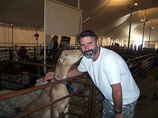 David and goat