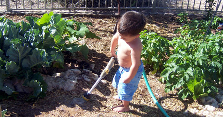 Anthony_watering_the_dirt