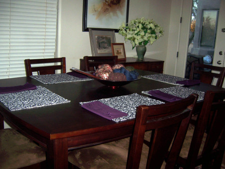 Terrific Placemats For Dining Room Table Ideas   Best Inspiration .